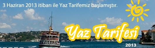2013-YAZ-TARİFESİ
