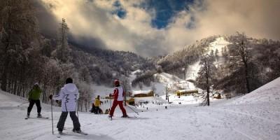 Ağrı Guneykaya-Kayak-Merkezi Sömestri