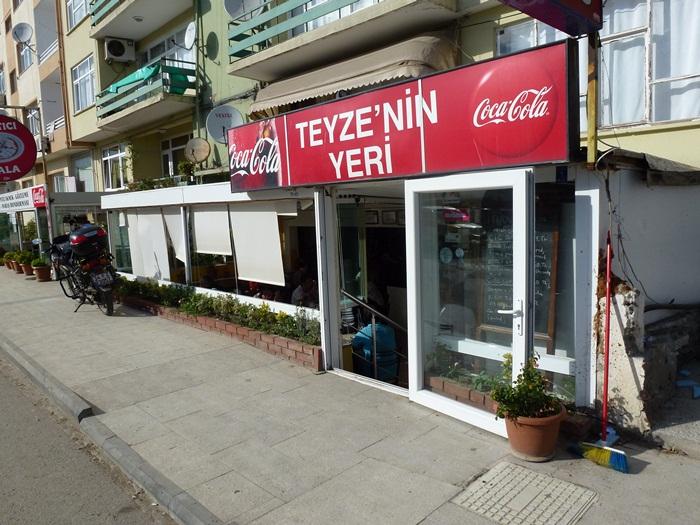 Sinop Mantısı Teyzenin Yeri